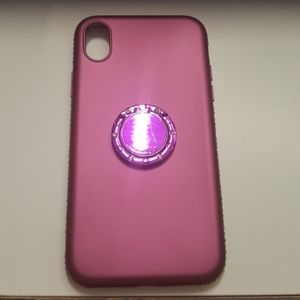 "Case for iphone XR 6.1"" color purple slimcase new"